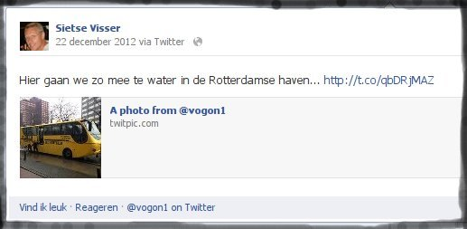 why write a script to cross-post tweets - pic on Facebook